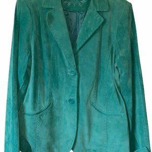 Provence D'amour Womens Suede Jacket